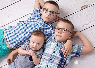 Marcel, Tymek i Leoś
